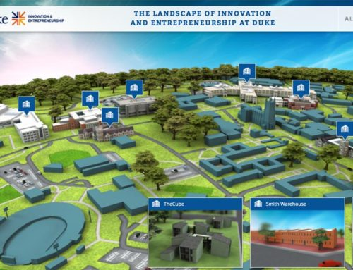Duke Innovation & Entrepreneurship 3D Map