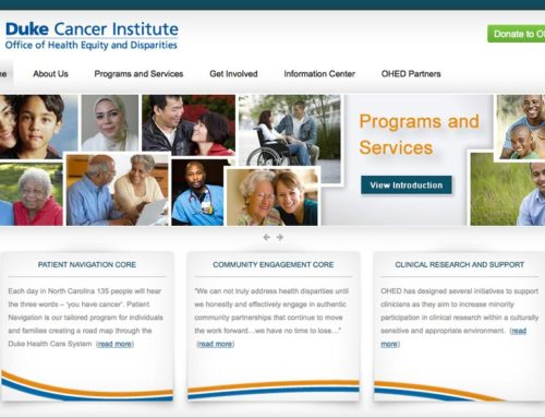 Duke Cancer Institute Website