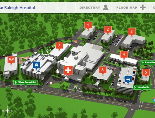Duke Raleigh Hospital Map