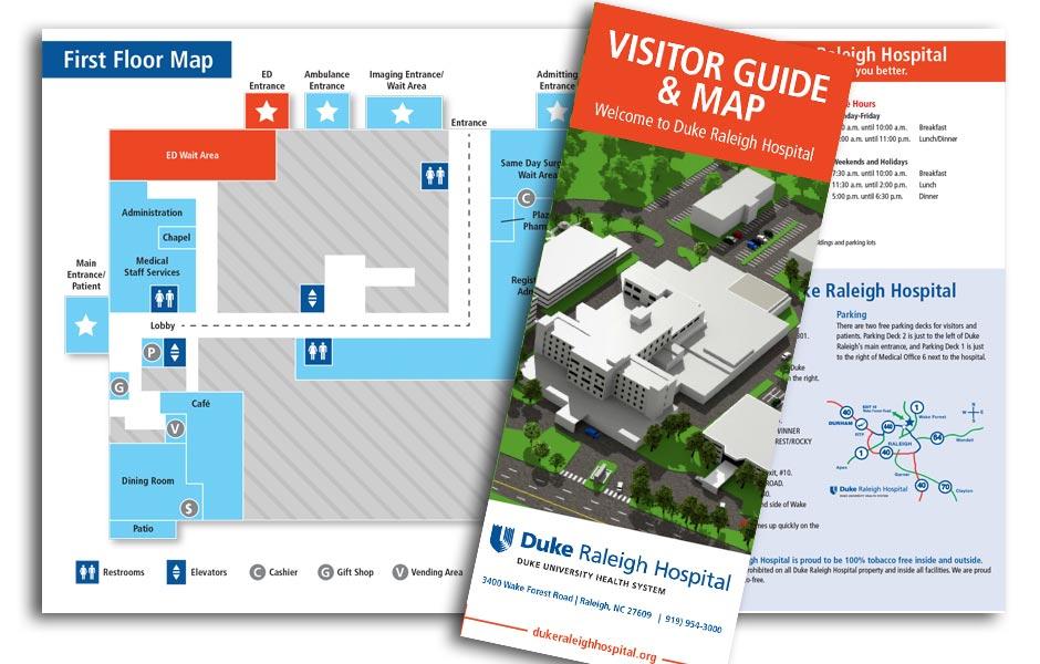 Duke Raleigh Hospital Visitor Guide - Pivot Point Media on