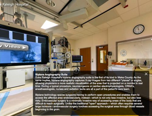 Duke Hospital Biplane Virtual Tour