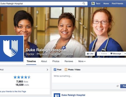 Duke Raleigh Hospital Facebook Page