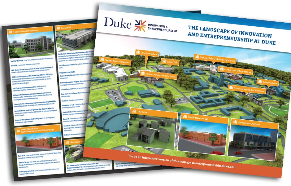 Duke Map Printout